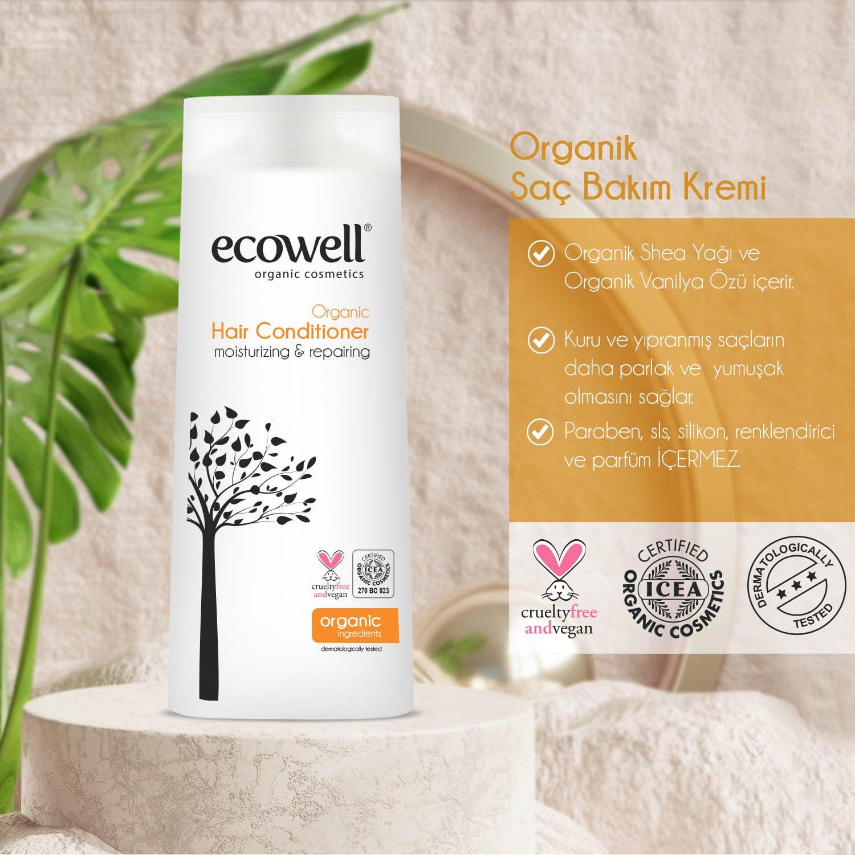 Organik Saç Bakım Kremi (300 ml) - Thumbnail