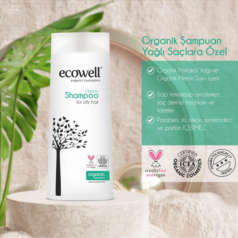 Organik Şampuan - Yağlı Saçlara özel (300 ml) - Thumbnail